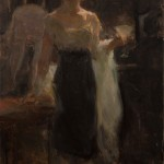 Ron Hicks, Lemon Twist, oil, 18 x 12.