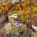 Walt Gonske, Jemez Gold | Oil Plein-Air Painter