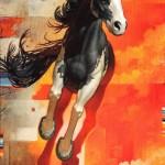 The Legend of Bragado, oil, 48 x 32.