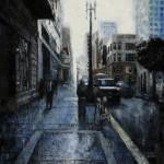 Jaime Longa, Between Two Worlds, oil, 24 x 18.