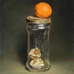 Jaime Longa, Rebirth, oil, 12 x 9.