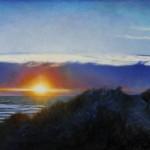 Jaime Longa, Triune, oil, 20 x 50.