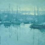 Robert Lemler   Monterey Sunrise, oil, 12 x 16.