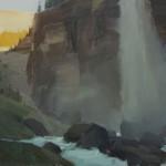Robert Lemler   Near Telluride, oil, 12 x 16.