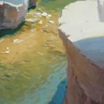 Robert Lemler   Oak Creek, oil, 30 x 20.