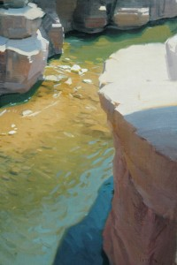 Robert Lemler | Oak Creek, oil, 30 x 20.