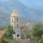 Dave Santillanes, Ojai, oil, 12 x 9.