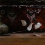 Jennifer Gennari, The Painted Box, oil, 10 x 16.