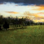 Peter Fiore, Golden Twilight, oil, 24 x 30.