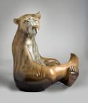 Joshua Tobey, Estes, bronze, 39 x 39 x 21.