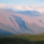 Dave Santillanes, Trail Ridge, oil, 20 x 30.